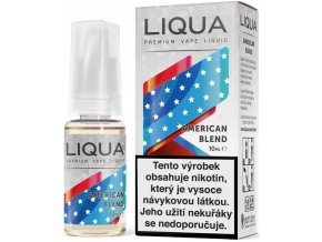 liqua e liquid elements american blend 10ml americky michany tabak