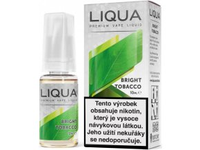 liqua e liquid elements bright tobacco 10ml cista tabakova prichut