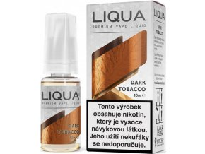 liqua e liquid elements dark tobacco 10ml silny tabak