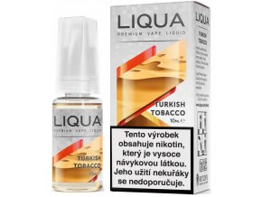 liqua e liquid elements turkish tobacco 10ml turecky tabak