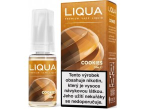 liqua e liquid elements cookies 10ml susenka