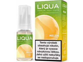 liqua e liquid elements melon 10ml zluty meloun