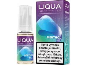 liqua e liquid elements menthol 10m mentol