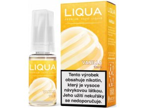 liqua e liquid elements vanilla 10ml vanilka