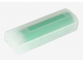 obal pouzdro plastove pro jednu baterii 18650