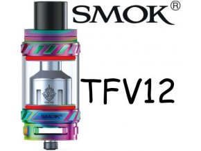 smok smoktech tfv12 beast clearomizer 7color duhova
