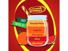 prichut aroma big mouth smooth summer mandarinka a zluty meloun