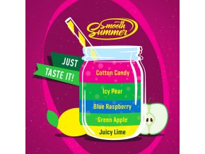 prichut aroma big mouth smooth summer cukrova vata a ledova hruska