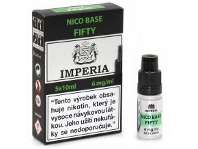 baze imperia pg50 vg50 fifty 6mg 5ks 5x10ml