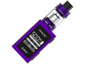 smok smoktech qbox tc 50w grip full kit purple fialovy