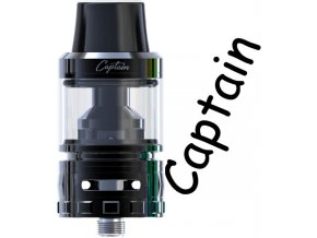 ijoy captain sub ohm clearomizer black cerny