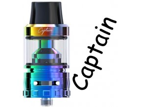 ijoy captain sub ohm clearomizer dazzling duhovy