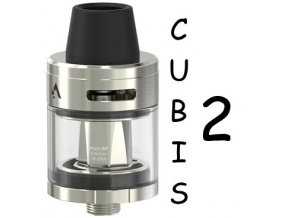 joyetech cubis 2 clearomizer 2ml silver stribrny