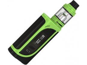 ismoka eleaf ikonn tc 220w grip s clearomizerem ello cerno zeleny