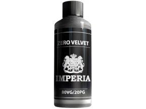 chemicka smes imperia velvet 1000ml pg20vg80 0mg bez nikotinu jeden litr
