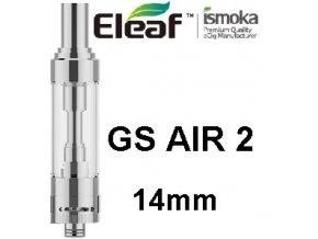 ismoka eleaf gs air 2 14mm clearomizer stribrny silver