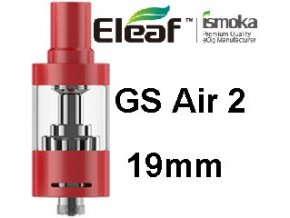 ismoka eleaf gs air 2 19mm clearomizer cerveny