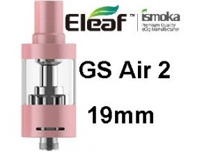 ismoka eleaf gs air 2 19mm clearomizer ruzovy