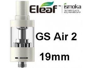ismoka eleaf gs air 2 19mm clearomizer bily white
