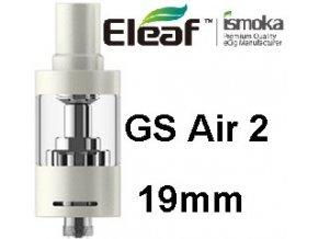 ismoka eleaf gs air 2 19mm clearomizer bily white
