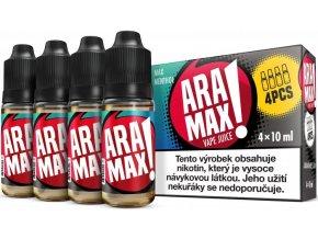 e liquid aramax 4pack max menthol 4x10ml 3mg