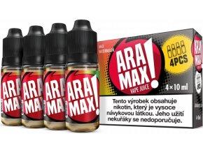 e liquid aramax 4pack max watermelon 4x10ml 3mg