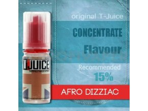 afro dizziac prichut t juice 10ml na michani do baze elektronicka cigareta
