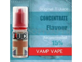 vamp vape prichut t juice 10ml na michani do baze elektronicka cigareta
