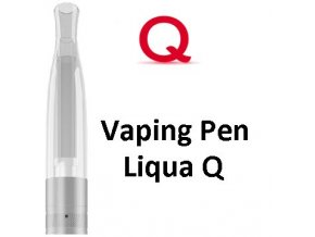 ritchy liqua q vaping pen clearomizer 18ohm 2ml clear ciry