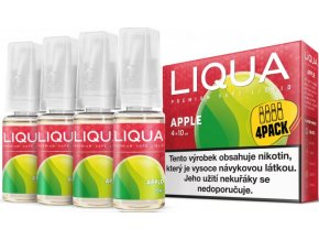 e liquid liqua elements 4pack apple 4x10ml jablko