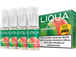 e liquid liqua elements 4pack watermellon 4x10ml3mg vodni meloun