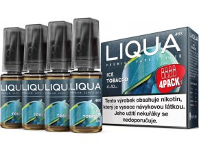 e liquid liqua cz mix 4pack ice tobacco 4x10ml