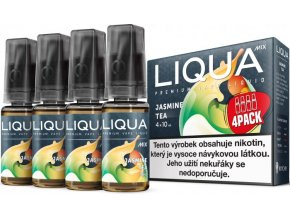 e liquid liqua cz mix 4pack jasmine tea 4x10ml