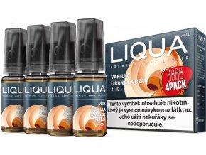 e liquid liqua cz mix 4pack vanilla orange cream 4x10ml