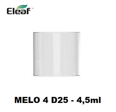 iSmoka Pyrex tělo pro-Eleaf Melo 4 D25 clearomizer 4,5ml