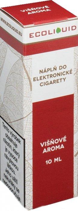 E-liquid Ecoliquid Cherry (Višeň) 10ml Množství nikotinu: 0mg