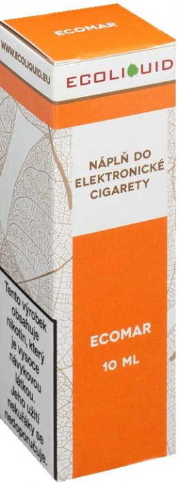 E-liquid Ecoliquid ECOMAR 10ml Množství nikotinu: 0mg