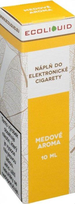 E-liquid Ecoliquid Honey (Med) 10ml Množství nikotinu: 0mg