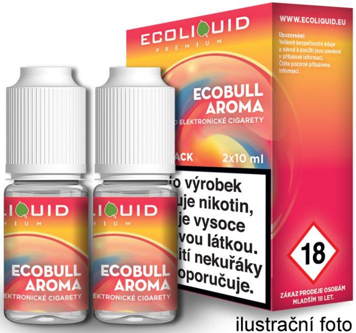 3798f6dd80 E-liquid Ecoliquid Ecobull (Energetický nápoj) 2Pack 2x10ml Množství  nikotinu  0mg