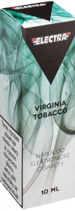 E-liquid ELECTRA Virginia Tobacco 10ml Množství nikotinu: 0mg