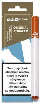Nick One Original jednorázová elektronická cigareta 210mAh Tobacco (Klasický tabák) 16mg