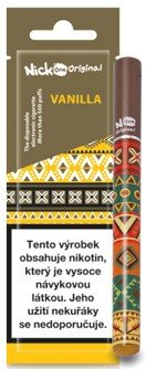 Nick One Original jednorázová elektronická cigareta 210mAh Vanilla (Vanilka) 16mg