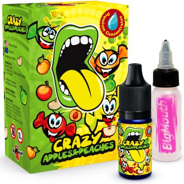 Příchuť Big Mouth Crazy Apples and Peachess 10ml