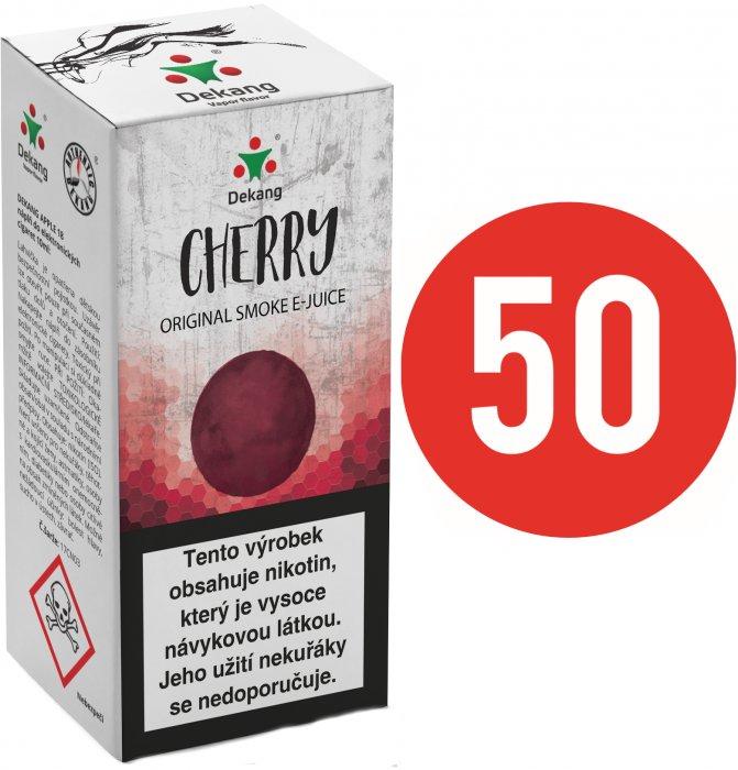 E-liquid Dekang Fifty 10ml Třešeň (Cherry) Množství nikotinu: 6mg