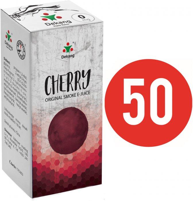 E-liquid Dekang Fifty 10ml Třešeň (Cherry) Množství nikotinu: 0mg