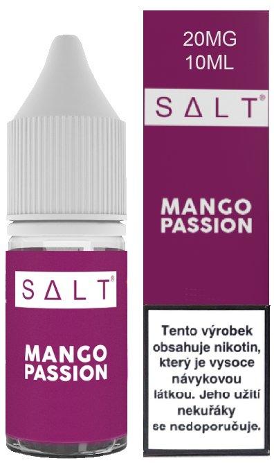 E-liquid Juice Sauz SALT Mango Passion 10ml - 20mg