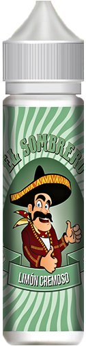 Příchuť KTS El Sombrero Limón Cremoso Shake and Vape 10ml