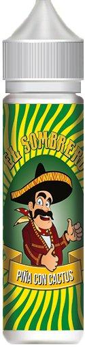 Příchuť KTS El Sombrero Piňa con Cactus Shake and Vape 10ml
