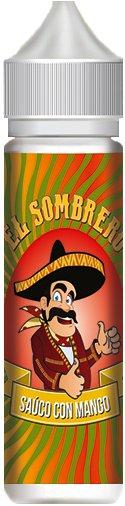 Příchuť KTS El Sombrero Saúco con Mango Shake and Vape 10ml