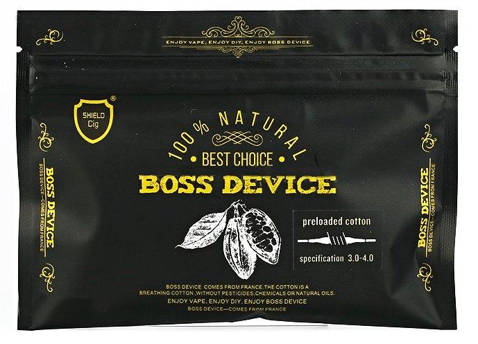 Shield Cig Boss Device organická bavlna